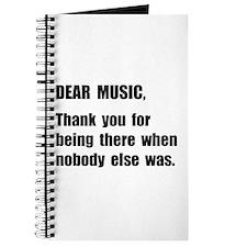 Dear Music Journal
