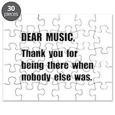 Dear Music Puzzle