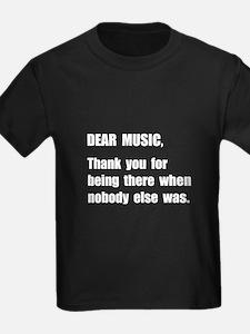 Dear Music T-Shirt