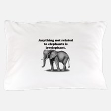 Irrelephant Pillow Case