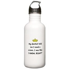 Dentist Crown Water Bottle