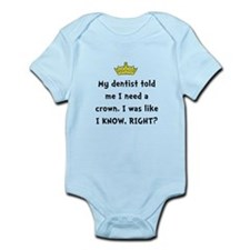 Dentist Crown Body Suit