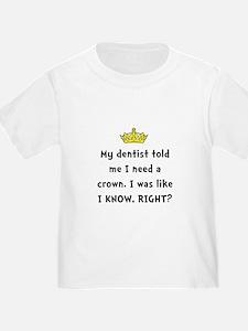 Dentist Crown T-Shirt
