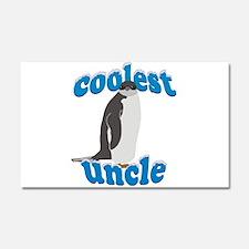 Coolest Uncle Car Magnet 20 x 12