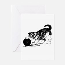 Kitten with Yarn Greeting Cards (Pk of 10)