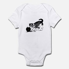 Kitten with Yarn Infant Bodysuit