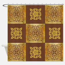 AMBER Shower Curtain