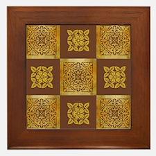 AMBER Framed Tile