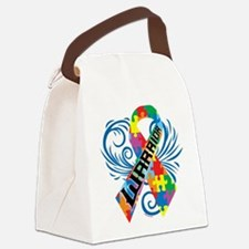 Autism Warrior Canvas Lunch Bag