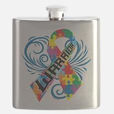 Autism Warrior Flask
