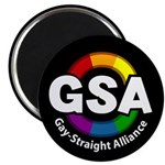 "GSA ToonB Black 2.25"" Magnet (100 pack)"