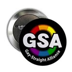"GSA ToonB Black 2.25"" Button (10 pack)"