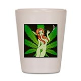 420 pot Shot Glass