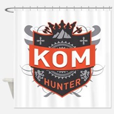 KOM Hunter Shower Curtain