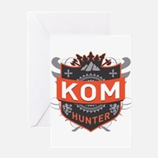 KOM Hunter Greeting Card
