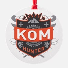 KOM Hunter Ornament