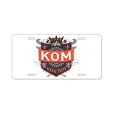KOM Hunter Aluminum License Plate