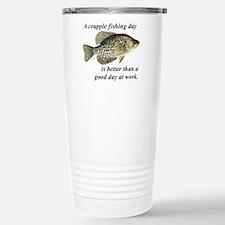 Crappie Fishing Day Travel Mug