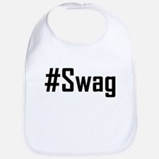 Hashtag Swag Bib