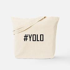 Hashtag YOLO Tote Bag