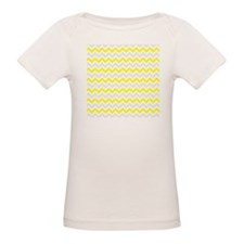 Yellow and Grey Zig Zags T-Shirt