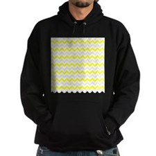 Yellow and Grey Zig Zags Hoody