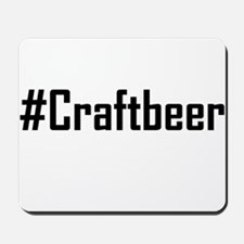 Hashtag Craftbeer Mousepad