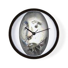Unique Face Art Wall Clock