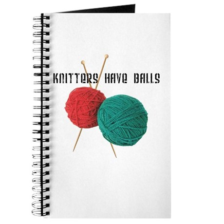 Knitters have Balls Journal