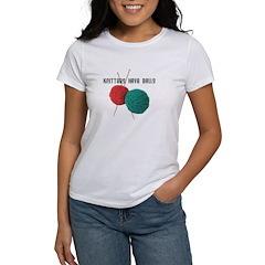 Knitters have Balls Women's T-Shirt