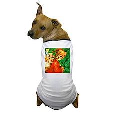 Santa Cat Dog T-Shirt