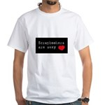 Scrapbookers are Sexy White T-Shirt