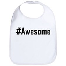 Hashtag Awesome Bib