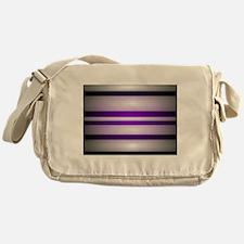 Purple Light Messenger Bag