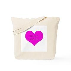 Scrapbooker - Scrap Adict Tote Bag