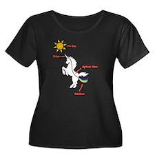 Scientific Explanation Plus Size T-Shirt