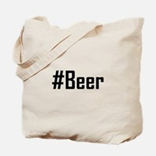 Hashtag Beer Tote Bag