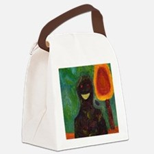 Smile Man Canvas Lunch Bag
