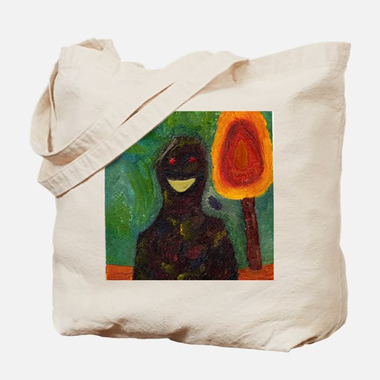 Smile Man Tote Bag