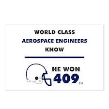 Aerospace Engineers Postcards (Package of 8)