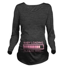 Baby Loading Wait Long Sleeve Maternity T-Shirt