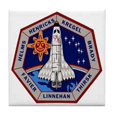 STS-78 Columbia Tile Coaster