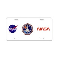 STS-78 Columbia Aluminum License Plate