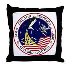STS-76 Atlantis Throw Pillow