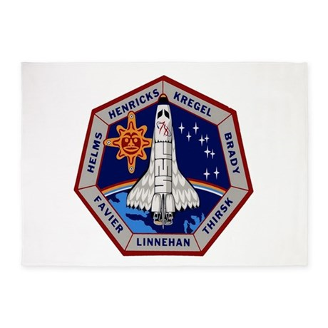 STS-78 Columbia 5'x7'Area Rug