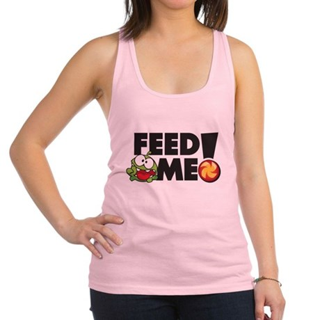 CUT THE ROPE -FEED ME! Racerback Tank Top