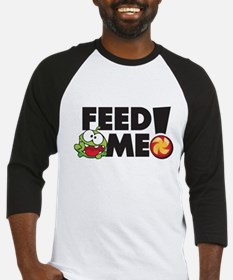 CUT THE ROPE -FEED ME! Baseball Jersey