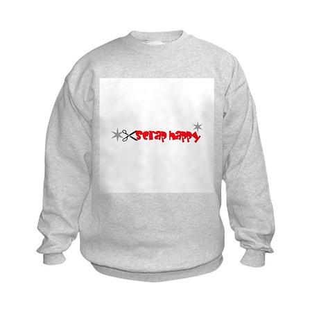 Scrap Happy - Scrapbooking Kids Sweatshirt