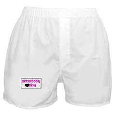 Scrapbook Diva Boxer Shorts