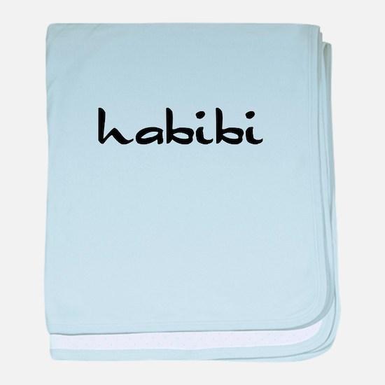 Habibi baby blanket